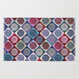 Colored Wood Pattern 3 / Color Variation Rug