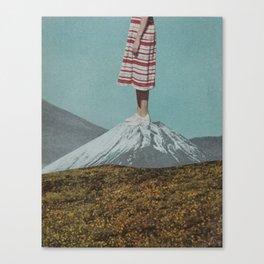 Meadow Mountain Canvas Print