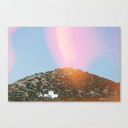 Religious Hill Canvas Print