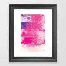 Color Texture (Five Panels Series) Framed Art Print