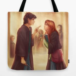 """I'd Just As Soon Kiss The Giant Squid!"" Tote Bag"