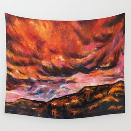 July in New Mexico Wall Tapestry