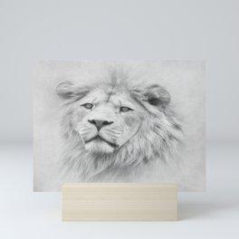 Barbary Lion Mini Art Print