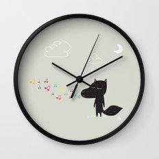 The Happy Sound Wall Clock