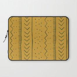 Moroccan Stripe in Mustard Yellow Laptop Sleeve