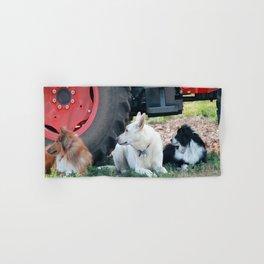 Farm Dogs Hand & Bath Towel