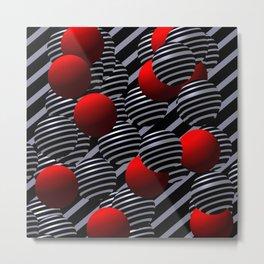 geometrical -f- Metal Print