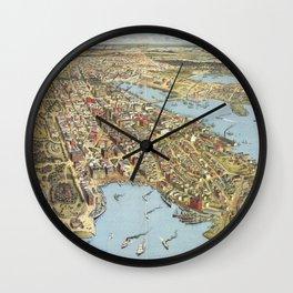 Sydney 1888 Wall Clock