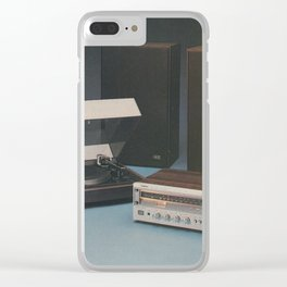 Vintage 1970's HiFi Clear iPhone Case