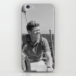 JFK Sailing On Vacation iPhone Skin