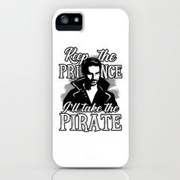 I'll take the pirate! iPhone Case