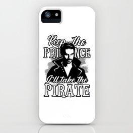 I'll take the pirate! iPhone Case
