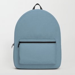 Sky suede color fabric Backpack