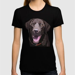 Libby the Chocolate Lab T-shirt