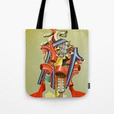 Head of the Organ Tote Bag