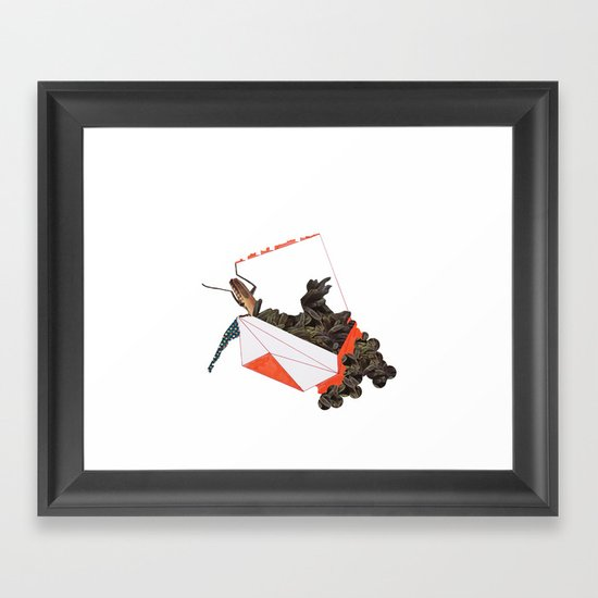 Beetle Box Framed Art Print
