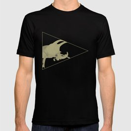 All lines lead to the...Inverted Rhino Beetle T-shirt