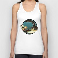 ferret Tank Tops featuring Ferret by Ana del Valle Store