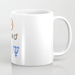 Planetary Symbols II Coffee Mug