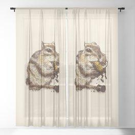 Occupational Hazard Sheer Curtain