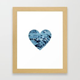 L E G O Love Art Print Framed Art Print