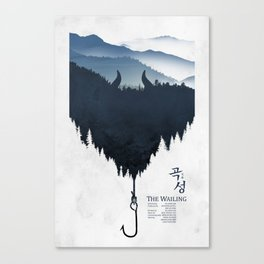 The Wailing Canvas Print