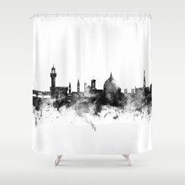 Florence Italy Skyline Shower Curtain