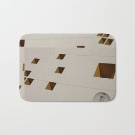Diagonal Squares and a Sphere Bath Mat