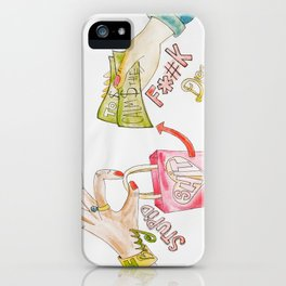 I BUY S#¡T iPhone Case