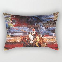 Classic Wars Rectangular Pillow