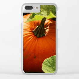 Waiting For Halloween Clear iPhone Case