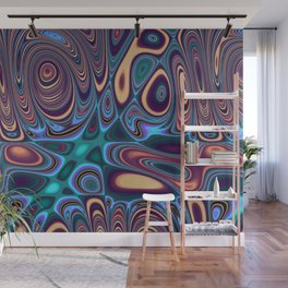 Fordite Marble Lava 29 Wall Mural
