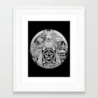 illuminati Framed Art Prints featuring Illuminati by SAMMO