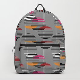 Striped baubles Backpack