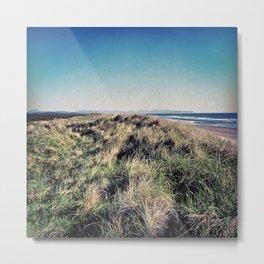 Sand Dunes Beach Oregon Coast Metal Print