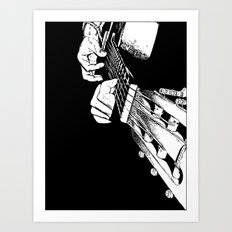 Pure Music! Art Print
