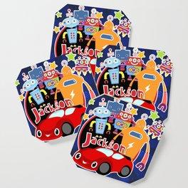 Jax-Red Car + Robots Coaster