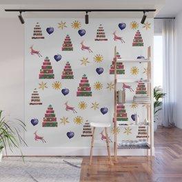 Holidays Joy Wall Mural