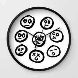 Acknowledge your denial Wall Clock