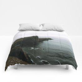 Neist Point Lighthouse II - Landscape Photography Comforters