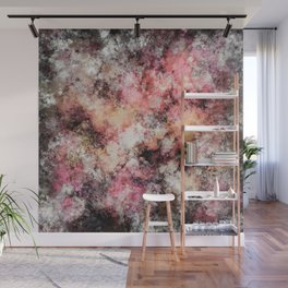Pink stone Wall Mural