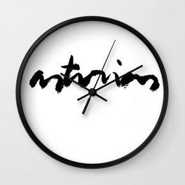 Asturias Wall Clock