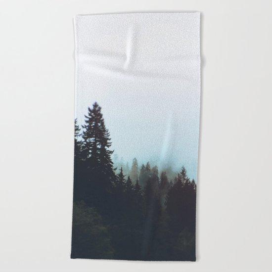 Washington Woodlands Beach Towel