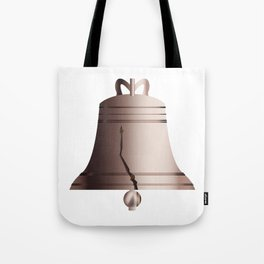 Liberty Bell With Crack Tote Bag