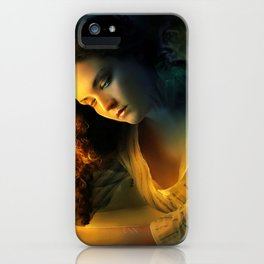 Ghost love story | Cadence of her last breath iPhone Case