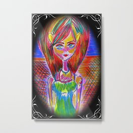 The Witch Knows Nothing In This World Is Super Natural - It's All Natural Metal Print