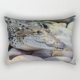 Crocodile Rectangular Pillow