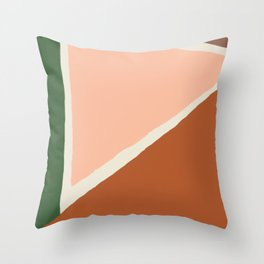 Vintage Palette Number 1 Throw Pillow
