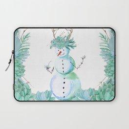 SNOWMAN PARTY ANIMAL Laptop Sleeve