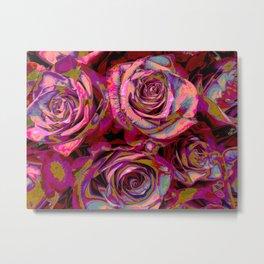 Extreme Roses Metal Print